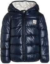 Kanz FROSTY TIMES ANORAK KAPUZE Winter jacket dress blue