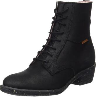 El Naturalista Women's Nc57 Wax Black/Quera Chukka Boots 6 UK