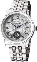 Gevril Men's Automatic Washington Silver tone Stainless steel Bracelet Watch