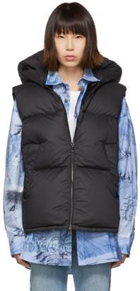 Moncler Black Down Gamble Vest