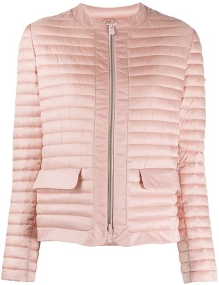 Save The Duck collarless puffer jacket