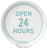 "Kate Spade Order's Up ""Open 24 Hours"" Spoon Rest"