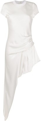 Alexander Wang asymmetric cap sleeve dress