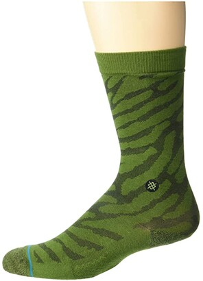 Stance Eldrick (Blue) Men's Crew Cut Socks Shoes