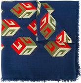 Gucci GG Wallpaper print scarf - women - Silk/Modal - One Size