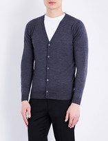 John Smedley Petworth V-neck merino wool cardigan