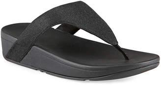 FitFlop Lottie Glitzy Thong Sandals