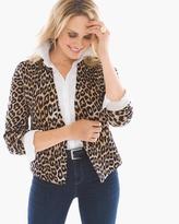 Chico's Lylah Cheetah Cardigan