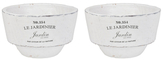 Shallow Jardinier Bowls (Set of 2)