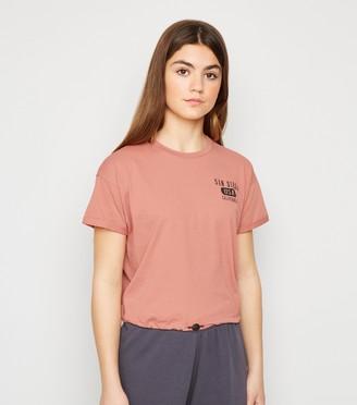 New Look Girls Mid San Diego Logo T-Shirt