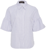 Burberry Striped Button Down Shirt