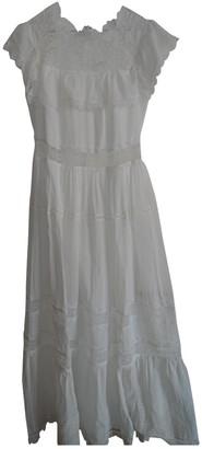 Vilshenko White Cotton Dress for Women