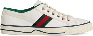 Gucci Men's Disney x Tennis 1977 sneaker with Web