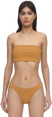 Aexae Lycra & Nylon Bandeau Bikini Top
