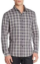 Sovereign Code Regular-Fit Hamsted Checkered Sportshirt