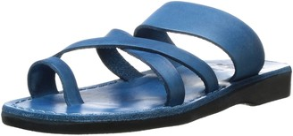 Jerusalem Sandals The Good Shepherd - Leather Toe Loop Sandal - Tan