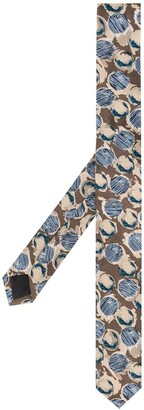 Gianfranco Ferré Pre Owned 1990s Abstract Print Tie