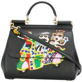 Dolce & Gabbana family patch Sicily shoulder bag