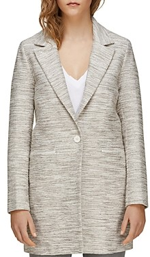 Soia & Kyo Ellen-b Tweed Coat