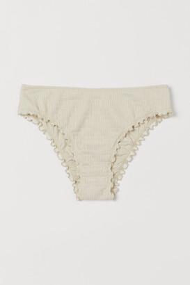 H&M Smocked Bikini Bottoms