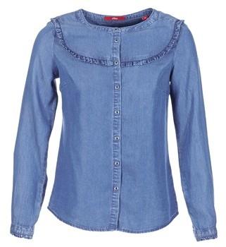 S'Oliver DADU women's Shirt in Blue