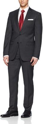 Calvin Klein Men's Michael Single Breast 2 Button Suit