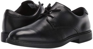 Clarks Scala Loop (Big Kid) (Black Leather) Boy's Shoes