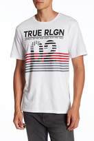 True Religion Inside Flag Graphic Short Sleeve Tee
