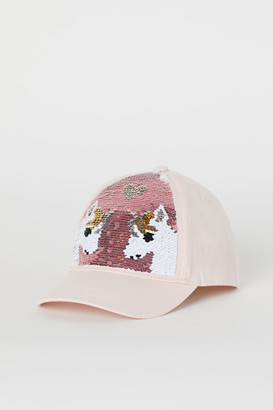H&M Cap with reversible sequins