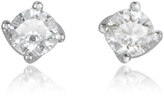 Forzieri 0.37 ctw Diamond Flower 18K White Gold Stud Earrings