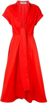 Silvia Tcherassi Sampuesana bow-detail dress