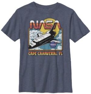 Fifth Sun Nasa Big Boy's Space Shuttle Short Sleeve T-Shirt