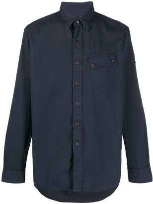Belstaff Plain Long Sleeve Cargo Shirt