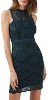 Topshop Women's Mix Lace Body-Con Dress