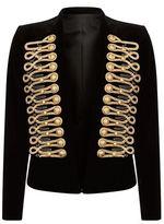 Balmain Embroidered Velvet Jacket