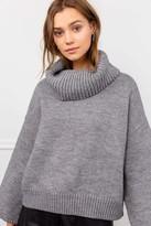 J.ING Bria Grey Cowl Neck Sweater