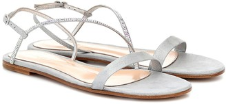 Gianvito Rossi Manhattan leather sandals