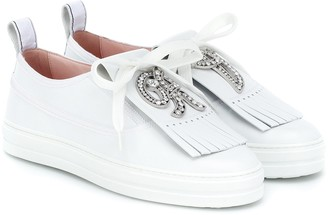 Roger Vivier Call Me Vivier leather sneakers