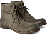 Officine Creative - Bubble Burnished-suede Boots