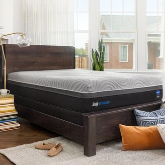 """Sealy Hybrid Performance Copper II 13.5"""" Plush Mattress and Box Spring Mattress Size: Full, Box Spring Height: Low Profile (5"""")"""