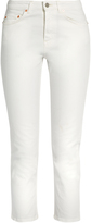 Acne Studios Row cropped stretch-cotton jeans