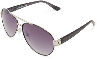 Rocawear Women's R496 Slv UV Protective Aviator Sunglasses   Wear All-Year   A Groovy Gift 65 mm