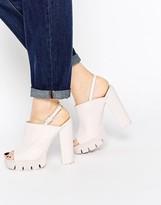 Asos THEME Mule Platform Sandals