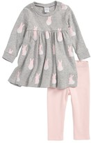 Nordstrom Infant Girl's Print Dress & Leggings Set