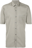Lanvin printed short sleeve shirt - men - Cotton - 39