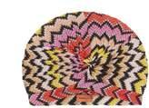MISSONI MARE Zigzag-knit turban