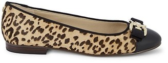 Sam Edelman Mage Leopard Cow Hair Flats