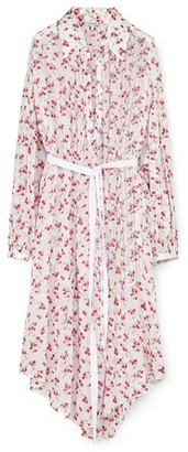 Loewe Flower print shirt dress
