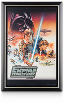 Disney Star Wars: The Empire Strikes Back Movie Poster Reproduction Metal Print - Framed