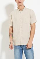 Forever 21 Linen Buttoned Shirt